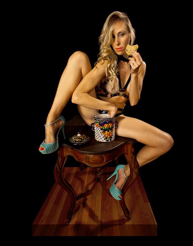 Artistic Nude Cosplay Photo by Photographer Raymond Elstad