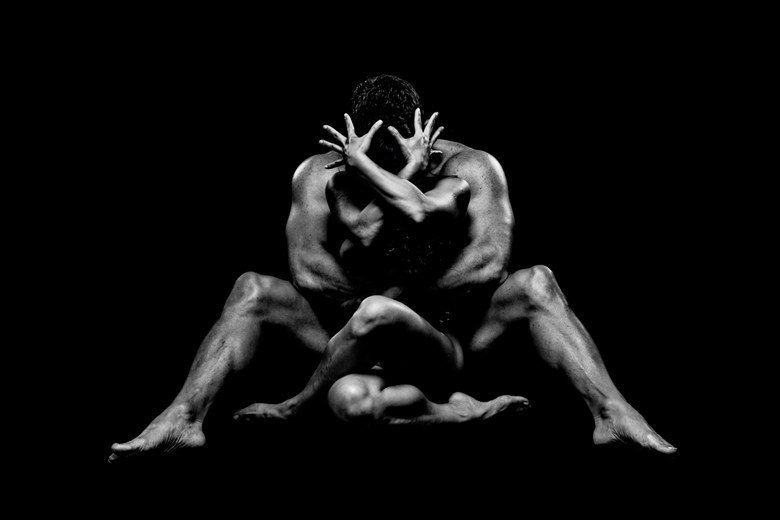 Artistic Nude Couples Photo by Model April A McKay