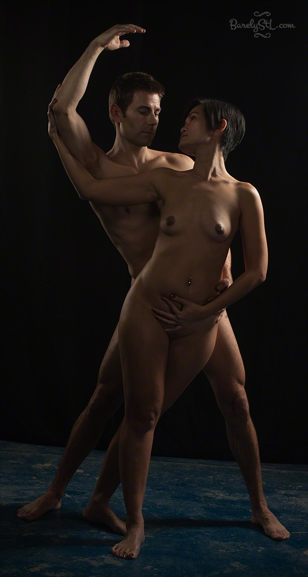 Artistic Nude Couples Photo by Photographer Barely StL