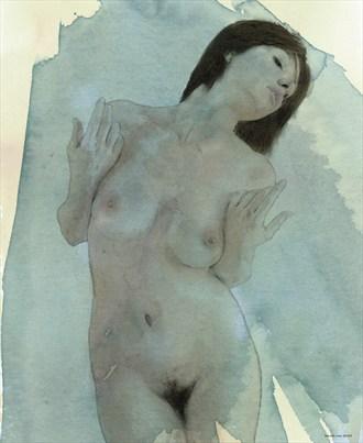 Artistic Nude Digital Artwork by Artist ianwh