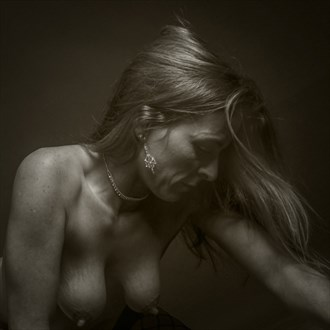 Artistic Nude Emotional Artwork by Model Hblake