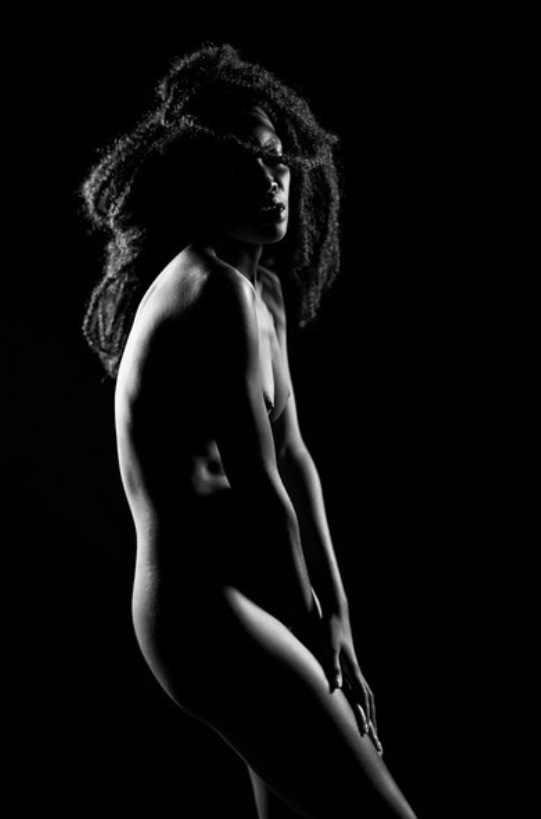 Artistic Nude Emotional Artwork by Model Tea
