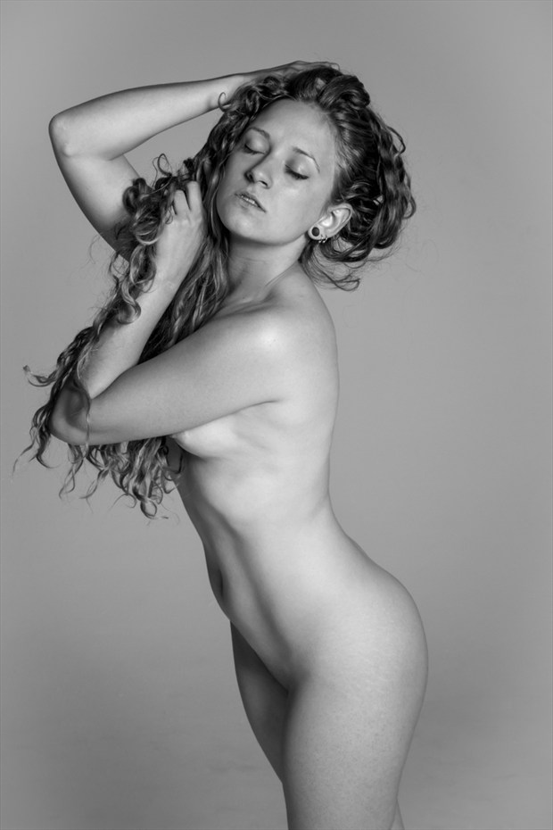 Artistic Nude Emotional Photo by Model Manzanita
