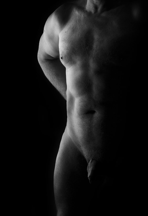Artistic Nude Erotic Artwork by Model Andry