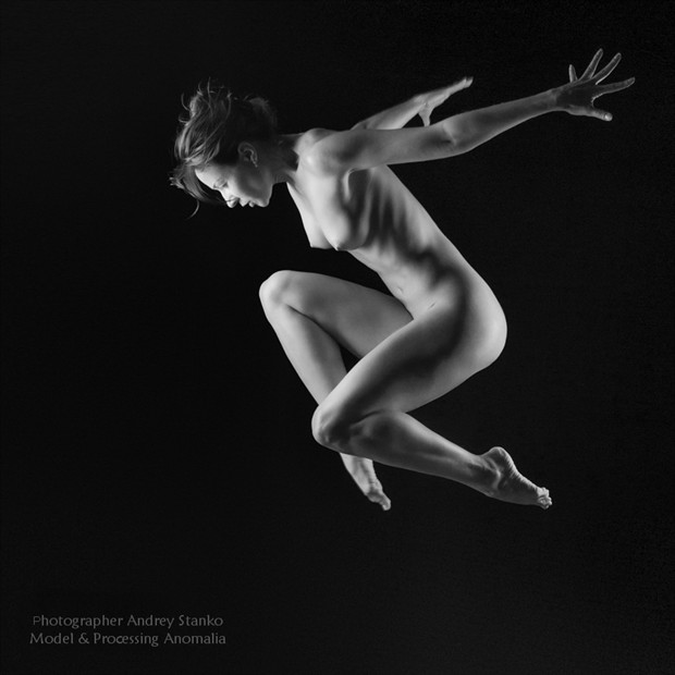 Artistic Nude Erotic Artwork by Model Anomalia