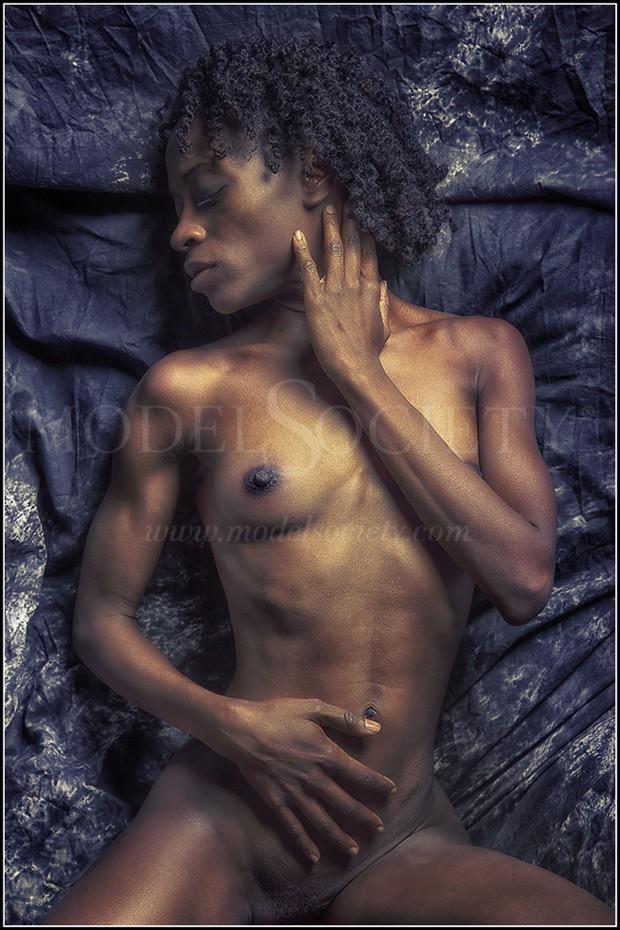Artistic Nude Erotic Artwork by Model Gazelle