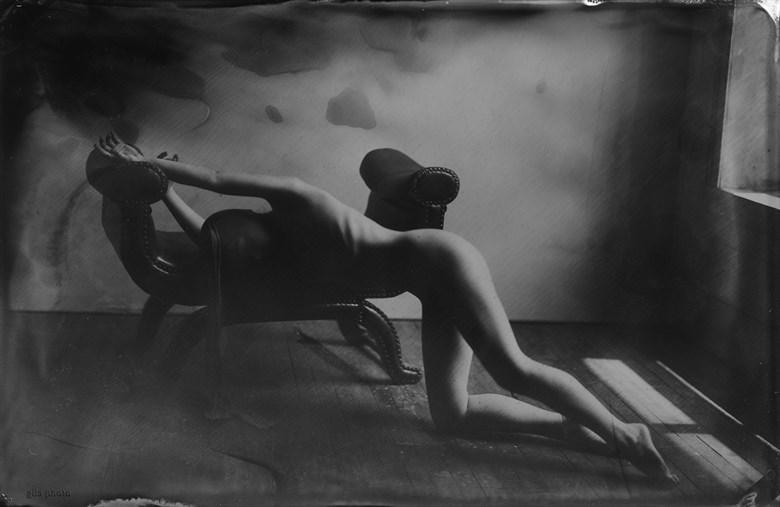 Artistic Nude Erotic Artwork by Model Liv Sage