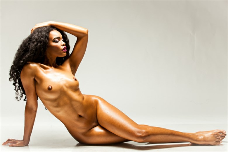 Artistic Nude Erotic Artwork by Model Tea