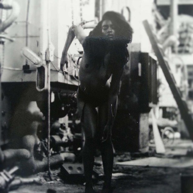 Artistic Nude Erotic Artwork by Model Tea