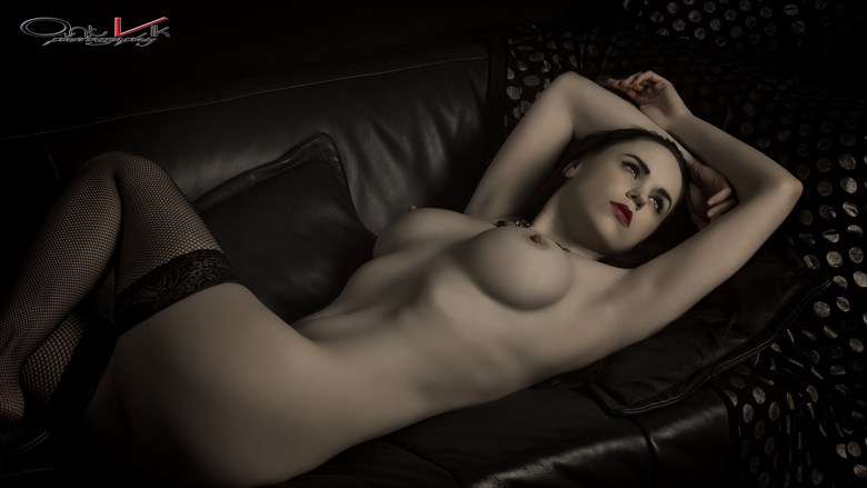 Artistic Nude Erotic Artwork by Model Vicky