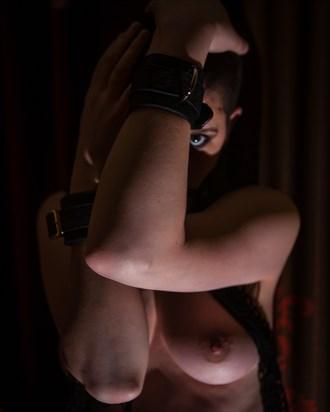 Artistic Nude Erotic Photo by Model Dahliaa Black