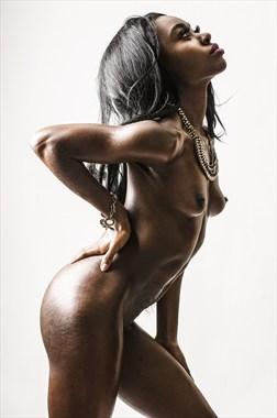 Artistic Nude Erotic Photo by Model Talmesha Keonna