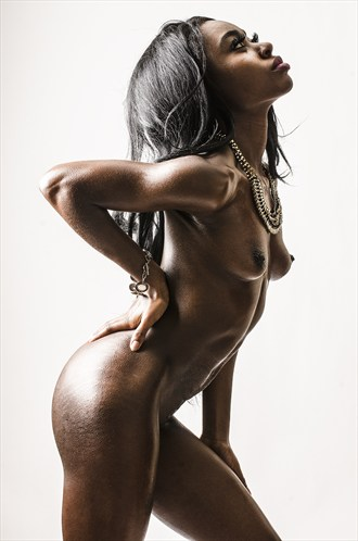 Artistic Nude Erotic Photo by Model Talmesha Keonna
