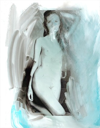 Artistic Nude Experimental Artwork by Artist ryn0