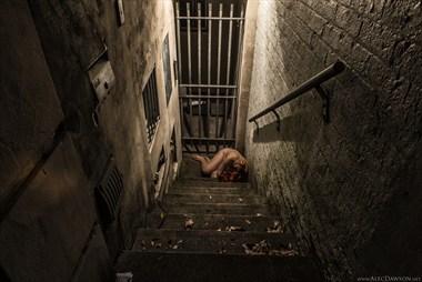 Artistic Nude Experimental Artwork by Photographer Alec Dawson