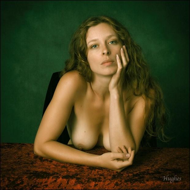 Artistic Nude Expressive Portrait Photo by Model Bianca Black