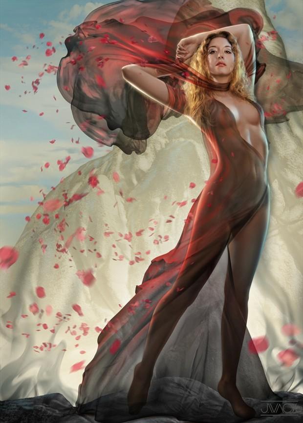 Artistic Nude Fantasy Artwork by Model Ella Rose Muse