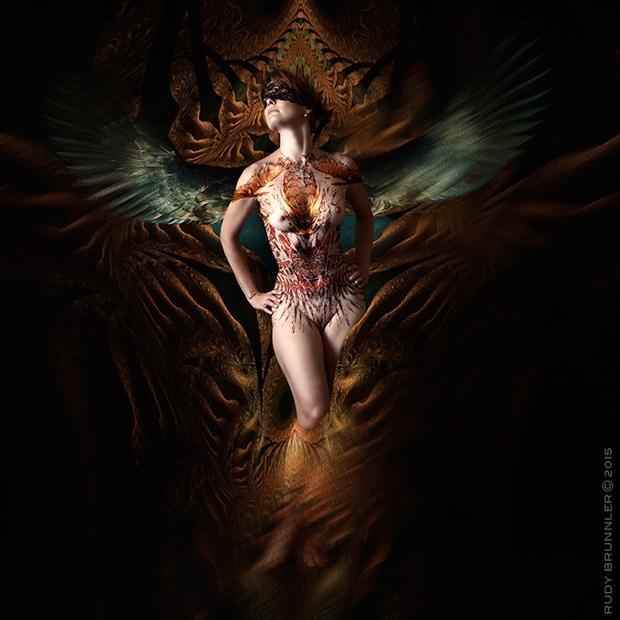 Artistic Nude Fantasy Photo by Photographer RudyBrunnler