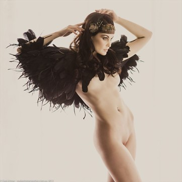 Artistic Nude Fashion Photo by Model Anne