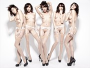 Artistic Nude Fashion Photo by Model ArainaN