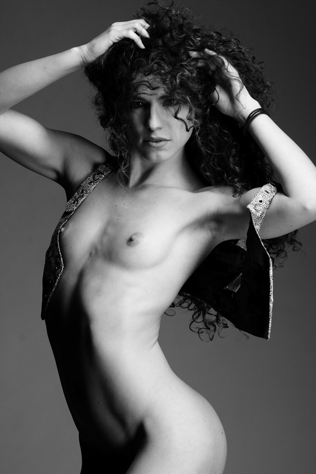 Artistic Nude Fashion Photo by Model Keira Grant