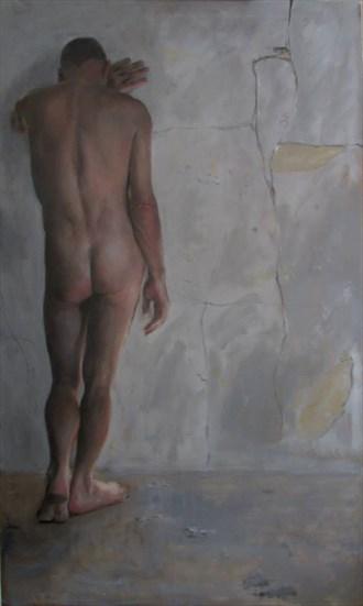 Artistic Nude Figure Study Artwork by Artist rogerrembrandt