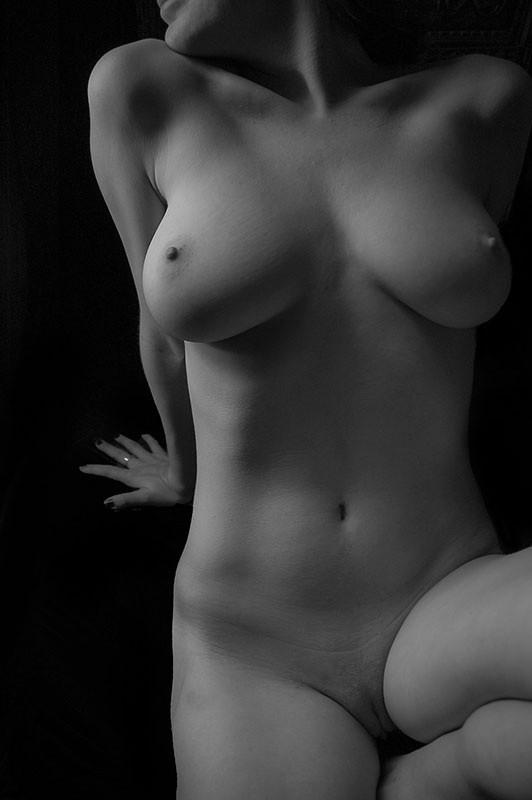 Artistic Nude Figure Study Artwork by Model Artmodelchristina