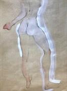 Artistic Nude Figure Study Artwork by Model Chelsea Jo