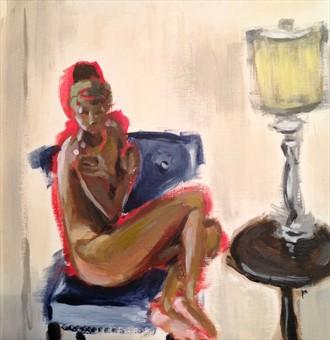 Artistic Nude Figure Study Artwork by Model E.Lane
