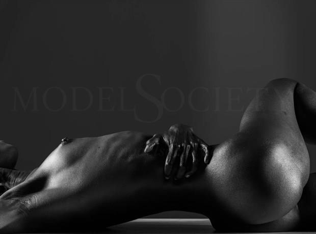 Artistic Nude Figure Study Artwork by Model Gazelle