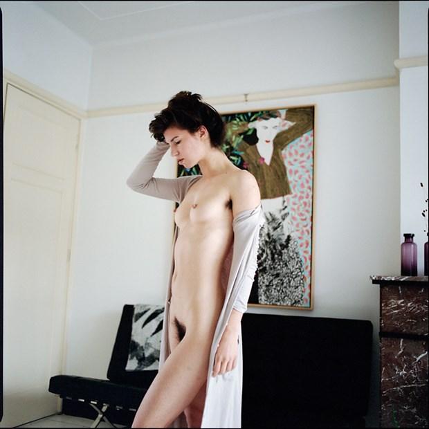 Artistic Nude Figure Study Artwork by Model Kyotocat