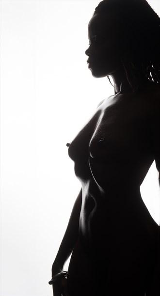 Artistic Nude Figure Study Artwork by Model Lenah