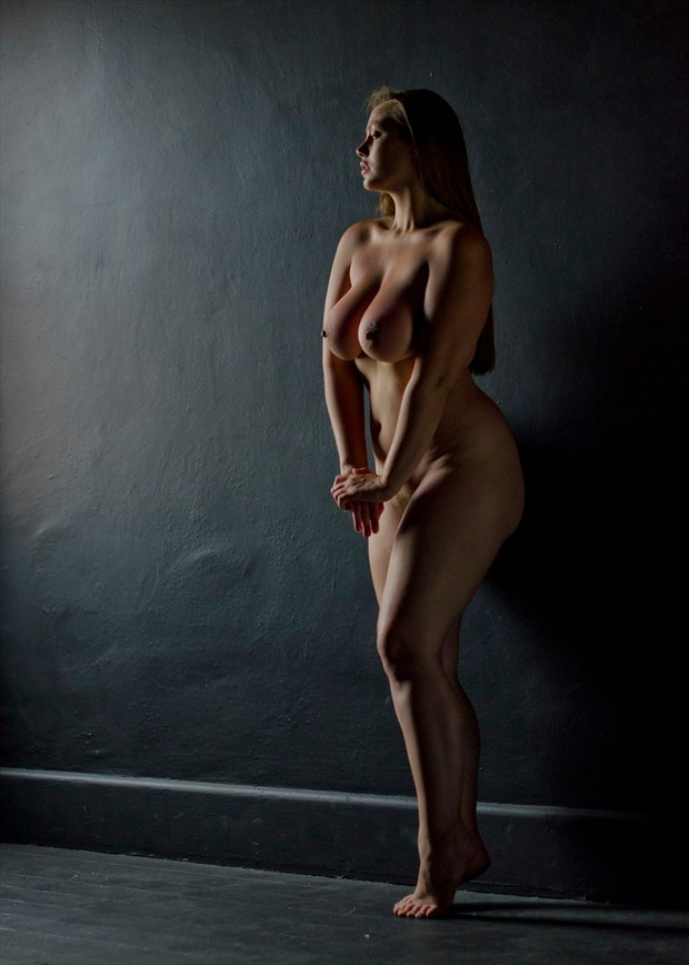 Artistic Nude Figure Study Artwork by Model Lillias Right