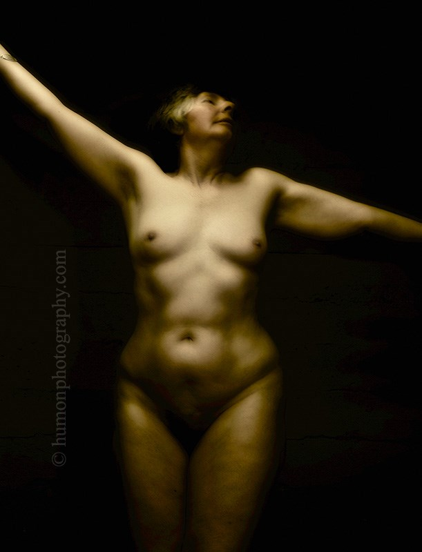 Artistic Nude Figure Study Artwork by Photographer humon photography