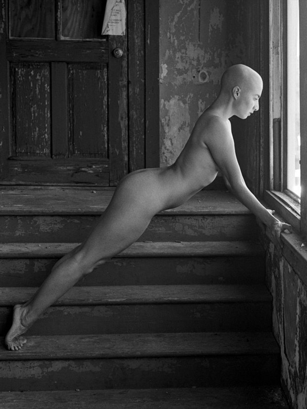 Artistic Nude Figure Study Photo by Model 000000000