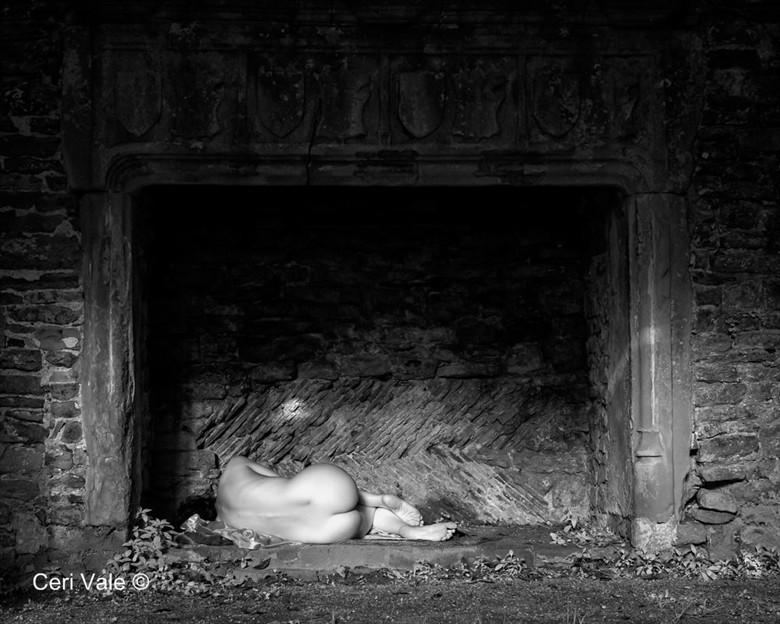 Artistic Nude Figure Study Photo by Model Becca