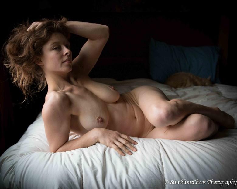 Artistic Nude Figure Study Photo by Model Bianca Black