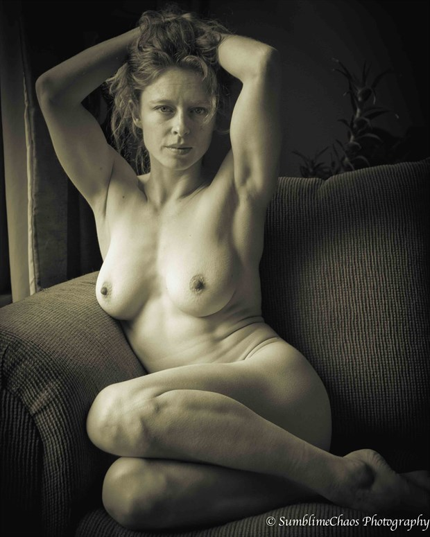 Artistic Nude Figure Study Photo by Model Bianca Black