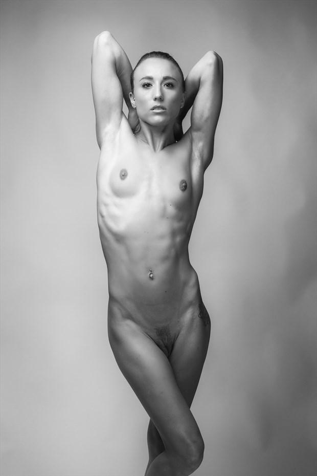 Artistic Nude Figure Study Photo by Model Chelsea Jo