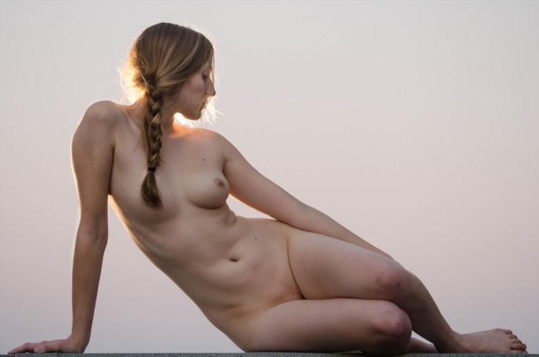 Artistic Nude Figure Study Photo by Model Eleanor Kathryn