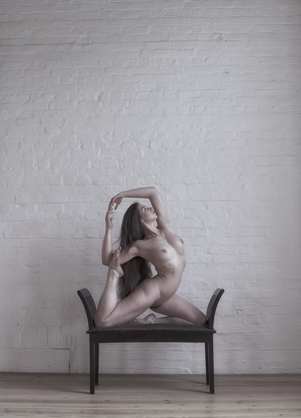Artistic Nude Figure Study Photo by Model Elle Beth