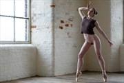 Artistic Nude Figure Study Photo by Model Elle Beth
