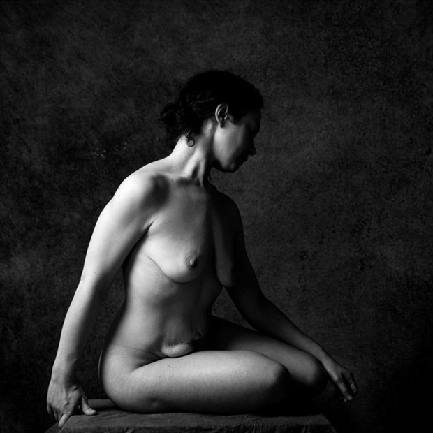 Artistic Nude Figure Study Photo by Model Eugenya