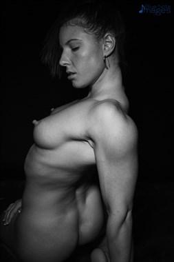 Artistic Nude Figure Study Photo by Model Fe Hackett