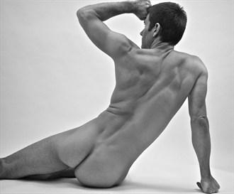 Artistic Nude Figure Study Photo by Model Jacob Dillon
