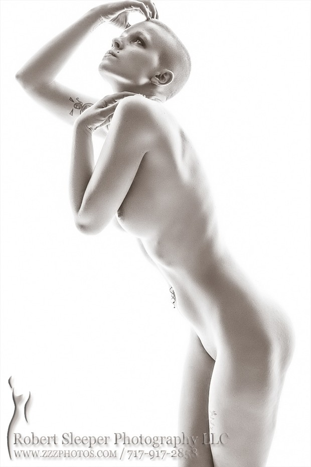 Artistic Nude Figure Study Photo by Model Jennuh Jabberwock