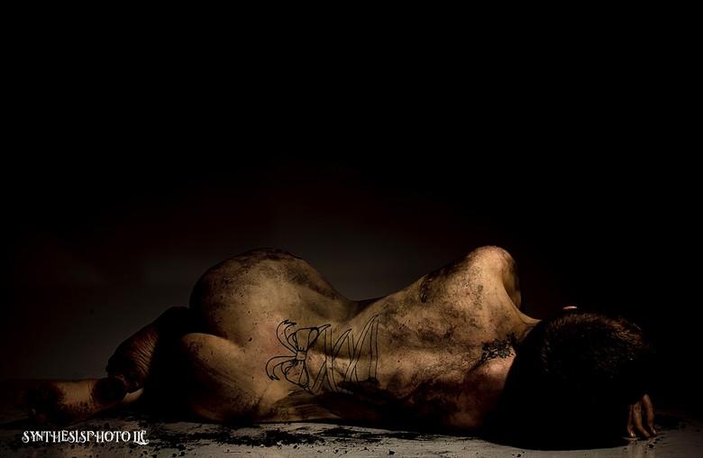 Artistic Nude Figure Study Photo by Model Jennuh Jabberwock