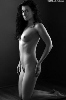 Artistic Nude Figure Study Photo by Model Katy T