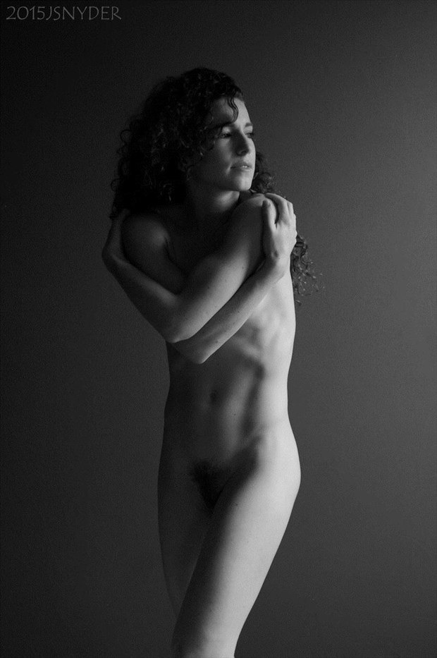 Artistic Nude Figure Study Photo by Model Keira Grant