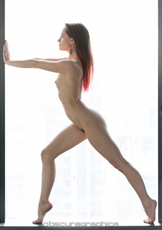 Artistic Nude Figure Study Photo by Model Lilly Rae